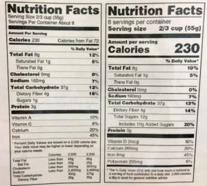 Learn what to look for in food labels   Food
