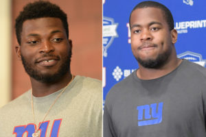 Two big pieces of Giants' future ready to show what buzz is about