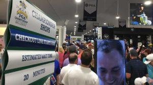 Tiger Woods buzz blitzing Bellerive merchandise tent, too