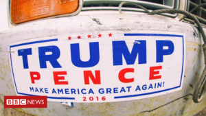 Cape Cod woman accused of hitting car over Trump sticker