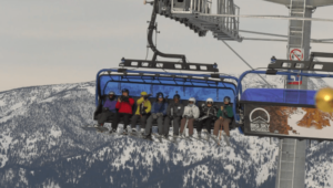 Ramcharger 8 chairlift debuts at Big Sky Resort