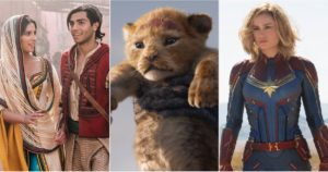 Disney and Marvel Movie Release Dates For 2019
