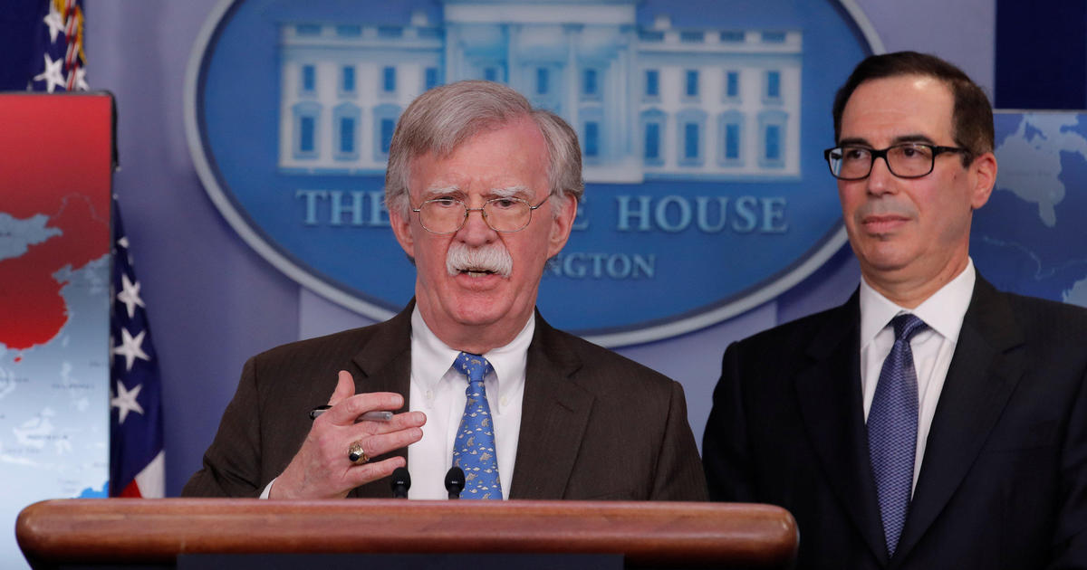 White House press briefing today: U.S. announces sanctions against Venezuela's state-owned oil company — live updates