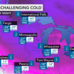 77 below zero? Polar vortex yields deadly cold as thousands endure power cuts, travel issues mount in Midwest