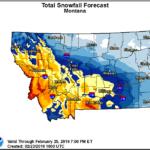WEATHER AUTHORITY ALERT: Winter weather will impact travel through Tuesday | ABC Fox Bozeman