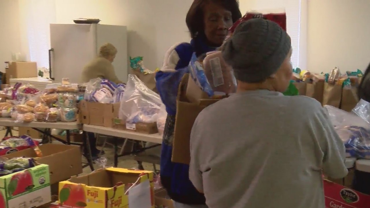 Local church feeds nearly 150 at monthly food drive