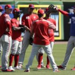 The Bryce Harper buzz, outfield changes, starting pitching issues and win predictions