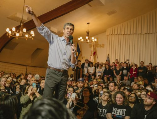 Beto O'Rourke calls for health care for all, wealth equality at SF stop