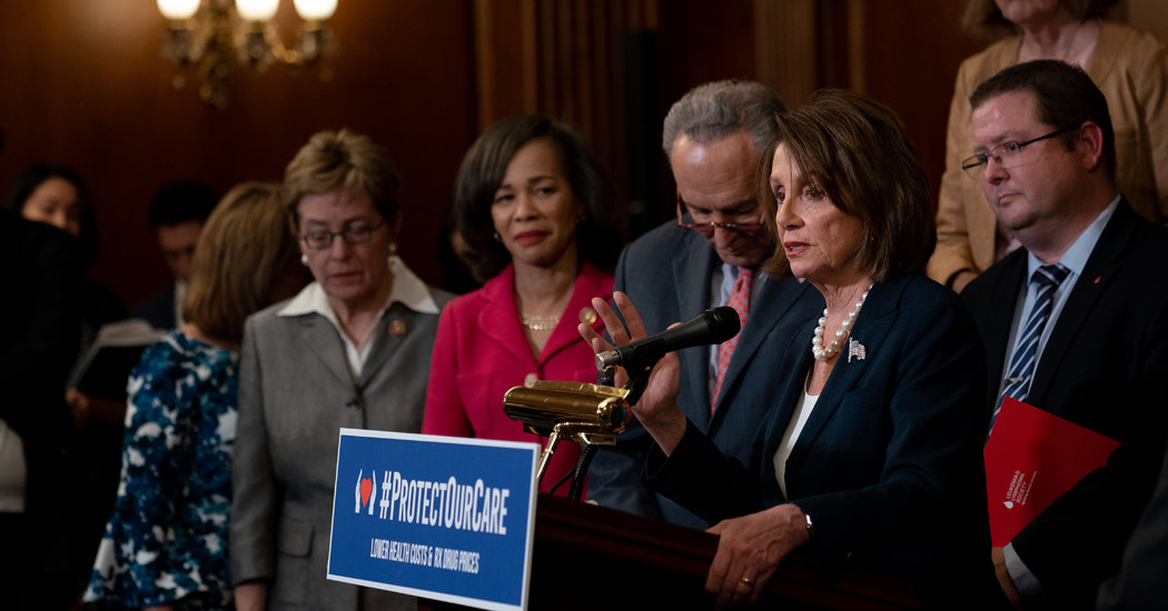 House Passes Legislation Aiming to Shore Up Health Law and Lower Drug Costs