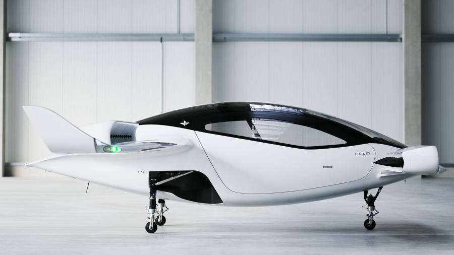 Air taxi aimed at revolutionising urban travel unveiled