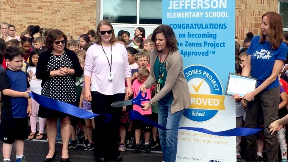 Jefferson Elementary recognized as Blue Zones approved | Regional news - Reedsburg Times Press