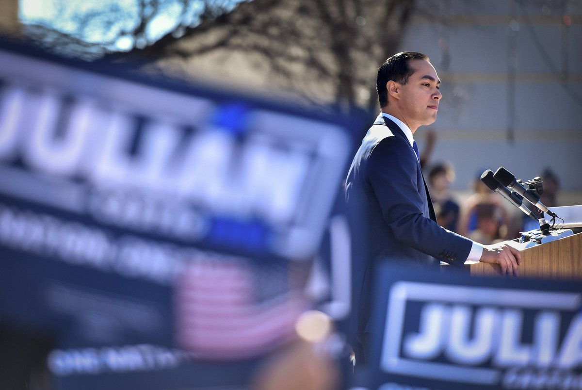 How Democrat Julián Castro navigates white presidential politics