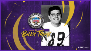Former TE Billy Truax To Enter NOLA Sports Hall of Fame - LSUsports.net