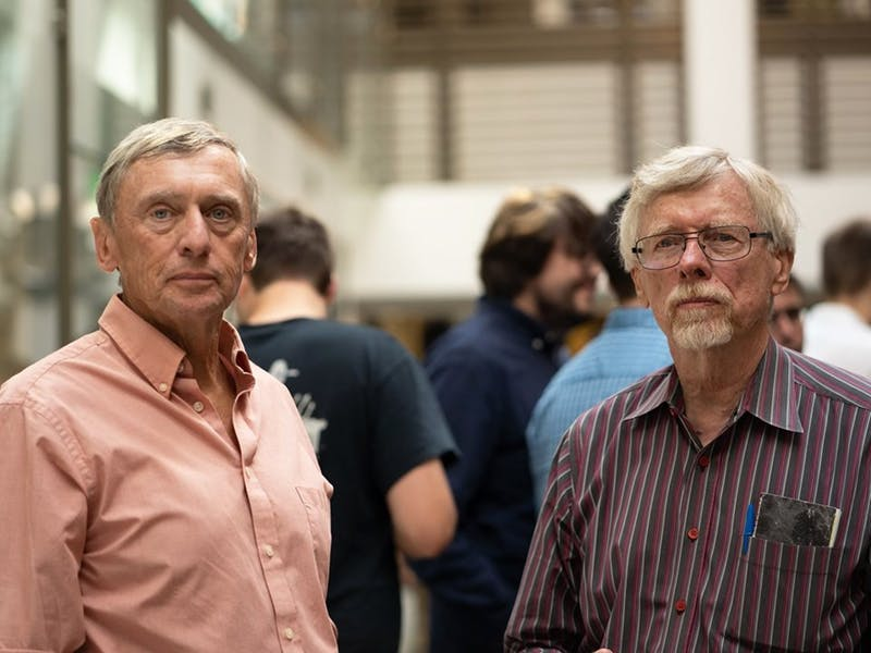 Two political science profs, friends for 50 years, win lifetime achievement award