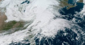 A 'bomb cyclone' takes aim at New York and Boston, bring rain and strong winds up to 70 mph