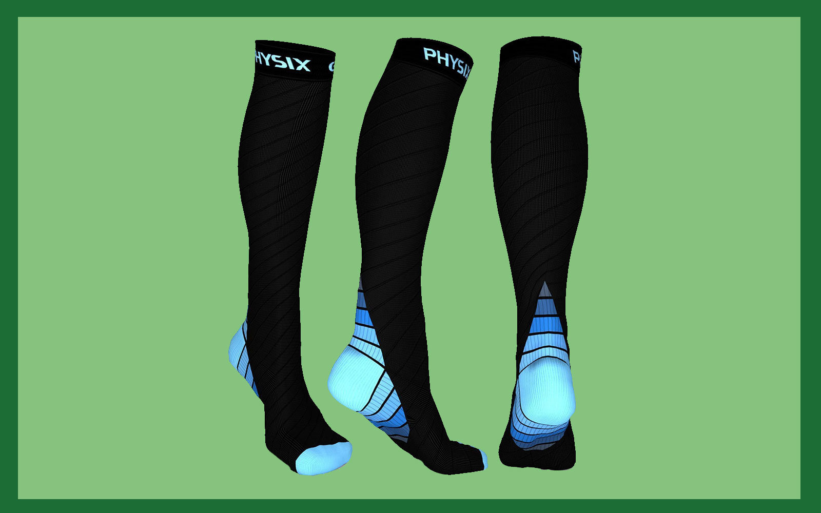 These Physix Gear Sport Compression Socks Save My Feet on Flights