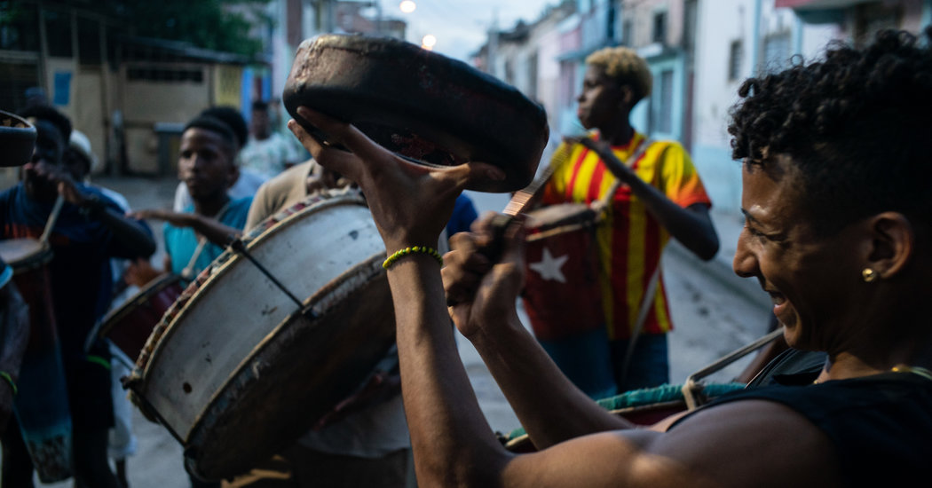 Traveling to the Rhythm of Cuba, and Trying to Keep Up