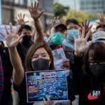 Trump Angers China By Signing Law Backing Hong Kong Protesters : NPR