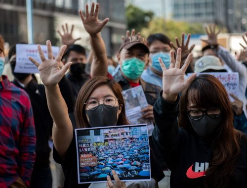 Trump Angers China By Signing Law Backing Hong Kong Protesters : NPR