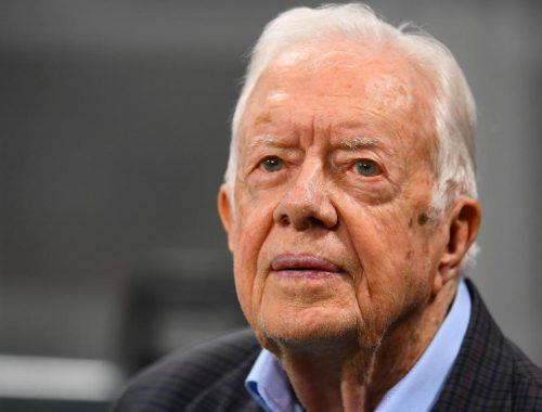 Jimmy Carter tells church service he is 'at ease' with death