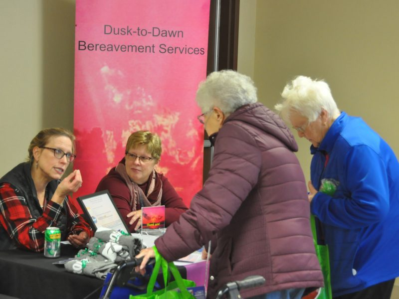 Senior health fair series wraps up