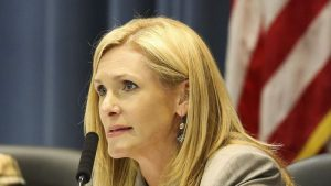 """Hillsborough County School Board chairwoman Melissa Snively wants her fellow board members to observe a """"cone of silence"""" while selecting the next superintendent. [Times staff]"""