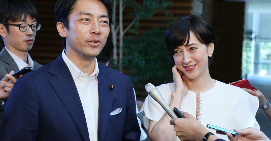A Japanese Politician Is Taking Paternity Leave. It's a Big Deal.