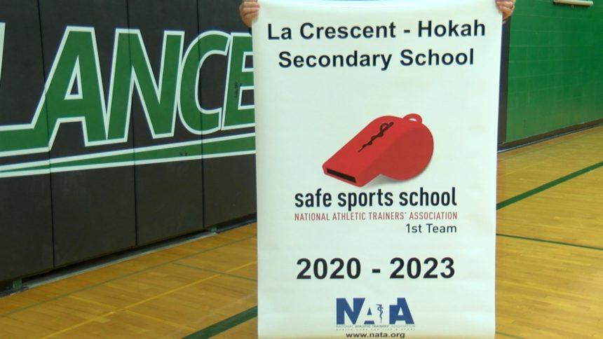 La Crescent-Hokah High School receives national award for safe sports program