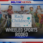 Wheeled sports skills rodeo and bike helmet giveaway -