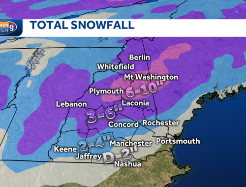 Quick shot of snow, wintry mix to impact midday travel Tuesday