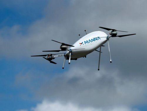 Irish drone operator bins fast food for medical drops