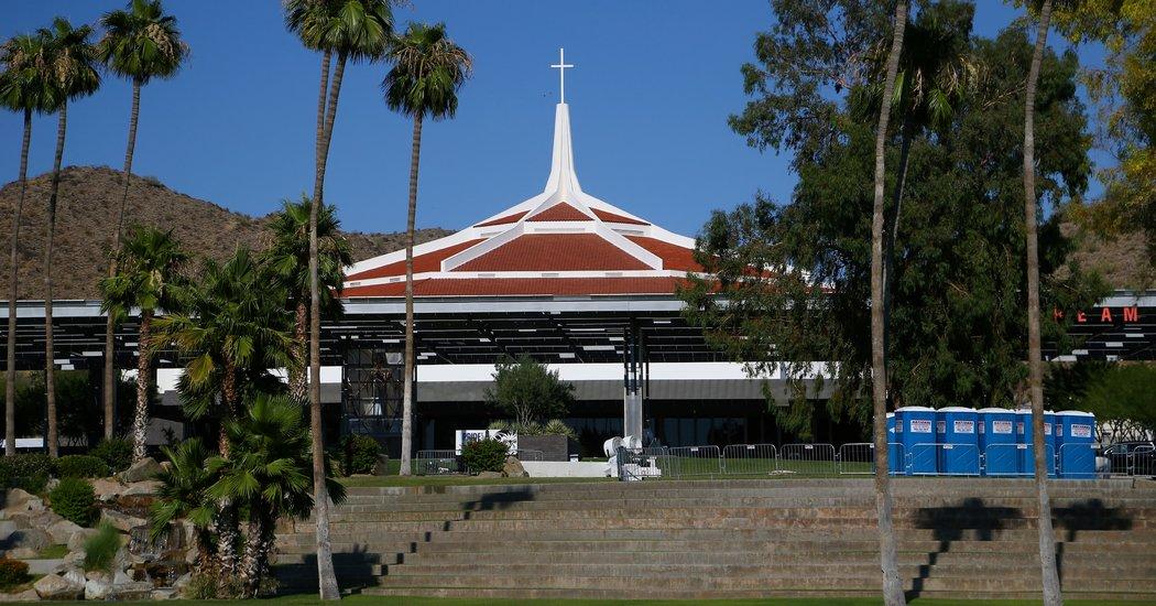 Ahead of Trump Visit, Church Makes Unproven Claim of Virus-Killing Technology