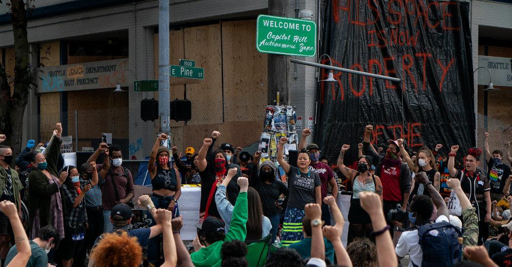 Inside Seattle's 'Autonomous Zone': Trump Criticizes Mayor Durkan