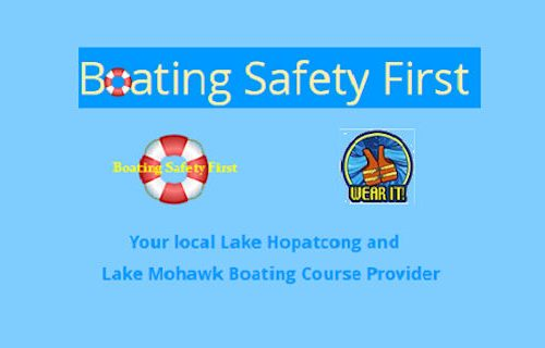 Lake Hopatcong Boating Safety Courses & Exam