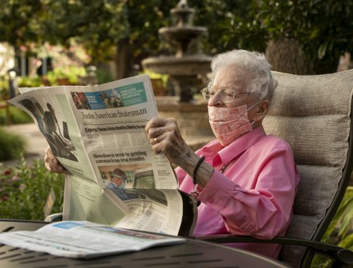 Meet the woman who's read the Austin American-Statesman since 1939 - Entertainment & Life - Brownwood Bulletin