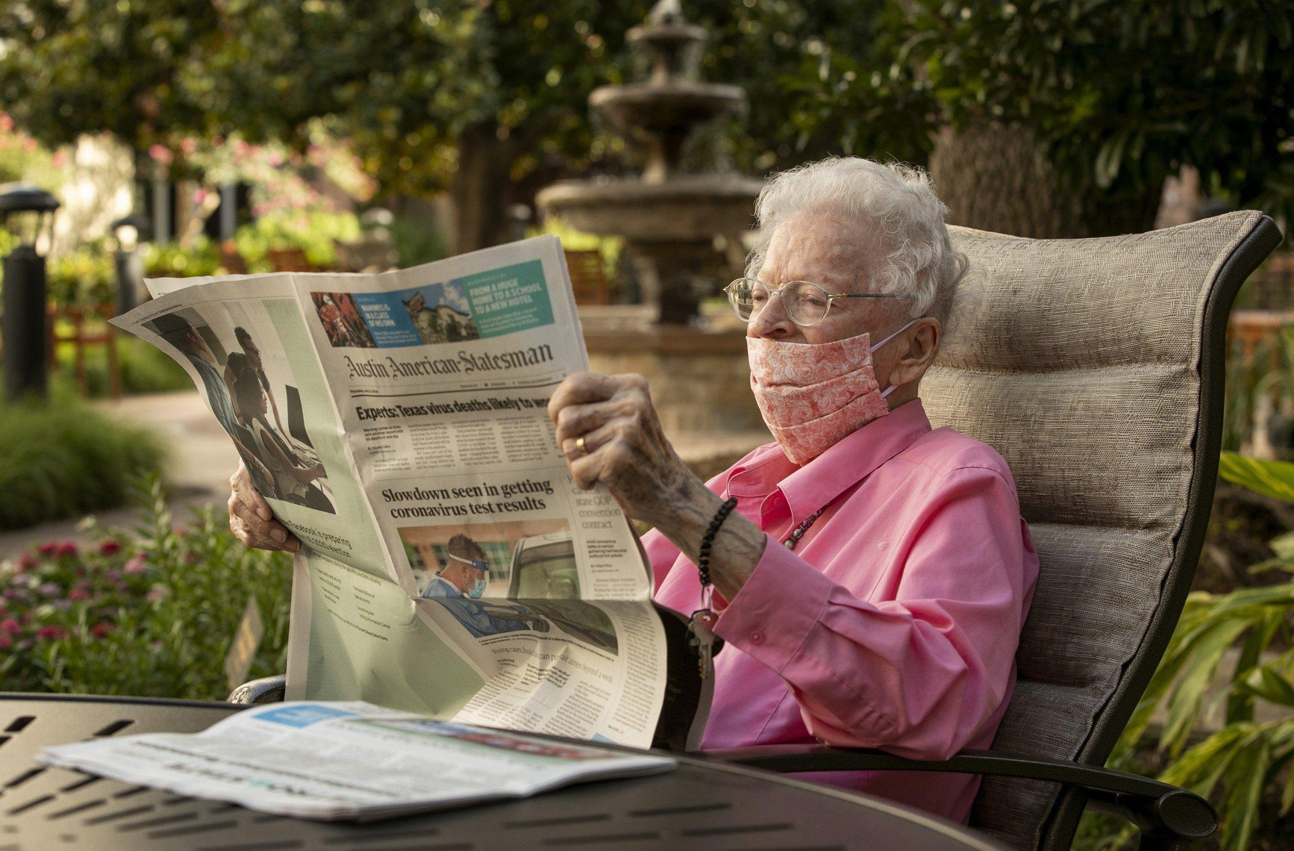 Meet the woman who's read the Austin American-Statesman since 1939 - Entertainment & Life - Brownwood Bulletin