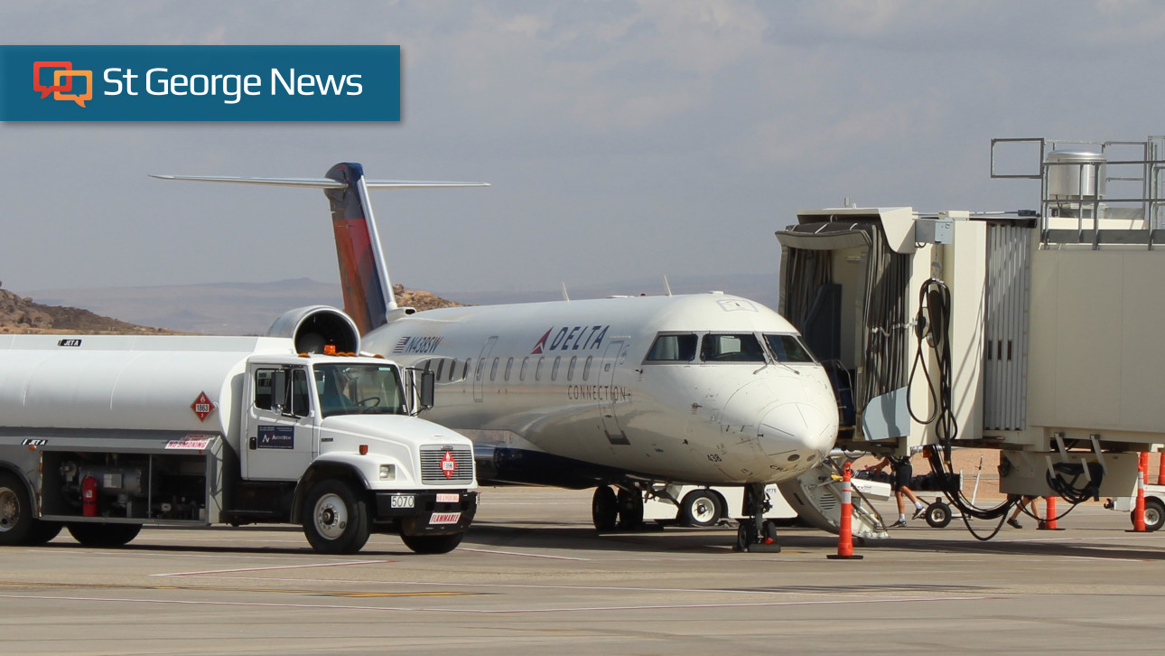 St. George Regional Airport flying financially high despite sharp decline in ridership – St George News