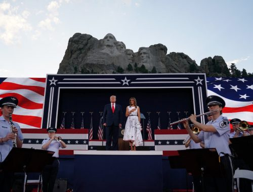 Trump Uses Mount Rushmore Speech to Deliver Divisive Culture War Message