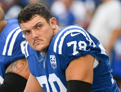 Business of Colts' camp, possible extension has Ryan Kelly's attention