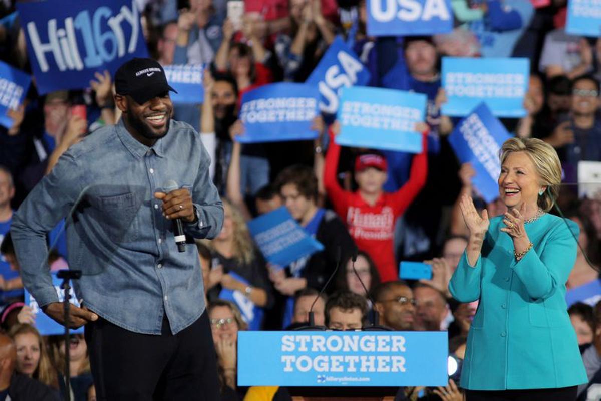 NBA star LeBron James emerges as potent political force ahead of November U.S. election | News