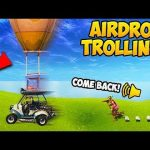 STEALING AIR DROPS! (2000 IQ) - Fortnite Funny Fails and WTF Moments! #285