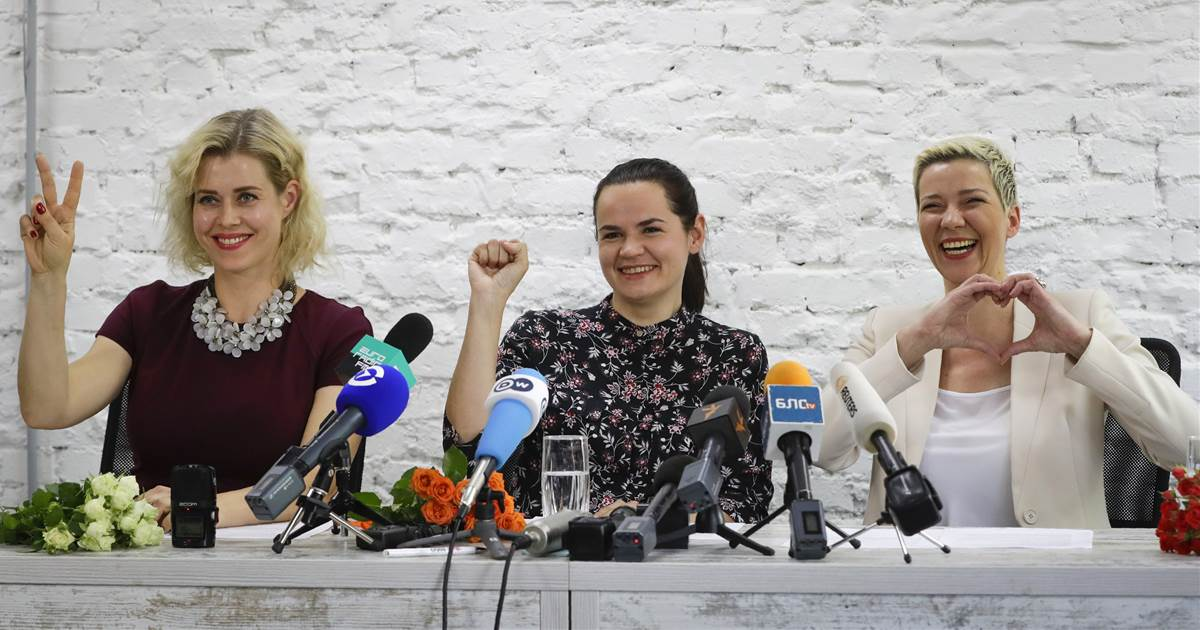 They might not win, but 3 women are 'giving hope' to Belarus with an unlikely presidential bid