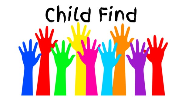 Child Find available for children with special education needs