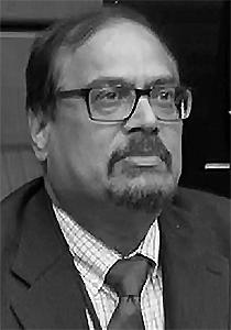 Nat Gopalswamy, winner of AGU's 2019 Space Physics and Aeronomy Richard Carrington Education and Public Outreach Award