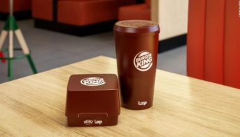 A new look for fast food; Burger King to test 'reusable' packaging