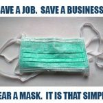 "GoLocal Launches ""Save a Job. Save a Business. Wear a Mask. It Is That Simple."" Campaign"