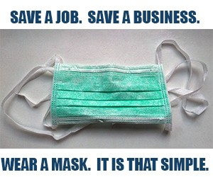 """GoLocal Launches """"Save a Job. Save a Business. Wear a Mask. It Is That Simple."""" Campaign"""