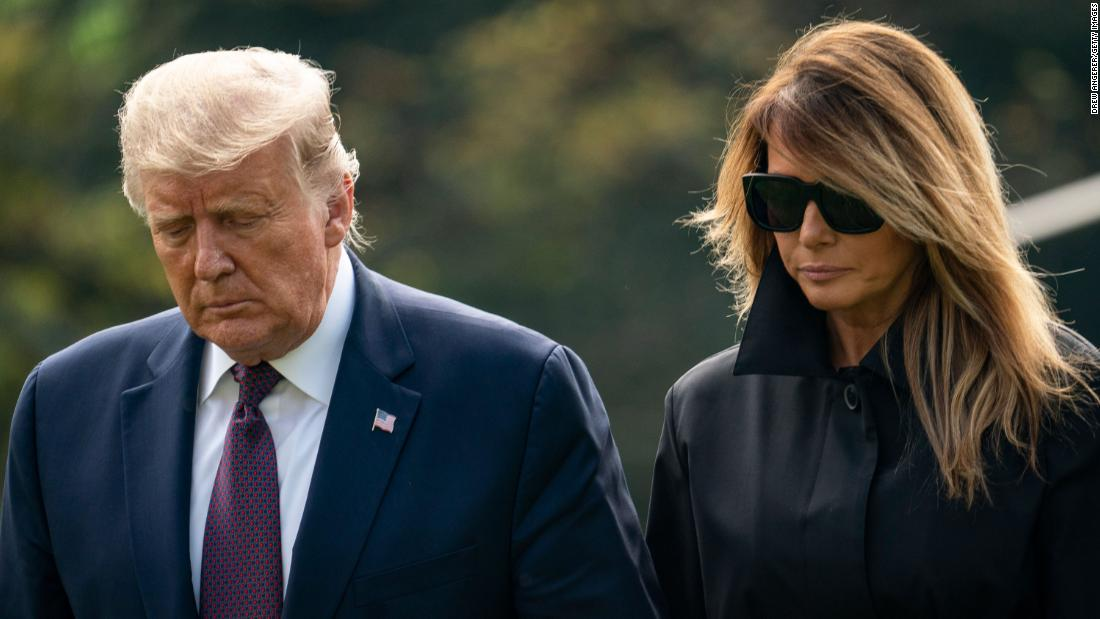 President Donald Trump and first lady Melania Trump test positive for Covid-19