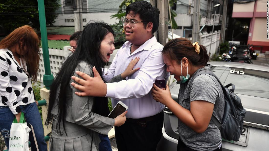 Two Thai protesters could face life imprisonment for violence against the Queen