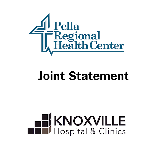 Pella Regional Health Center and Knoxville Hospital & Clinics Release Joint Statement on COVID-19 Surge | KNIA KRLS Radio